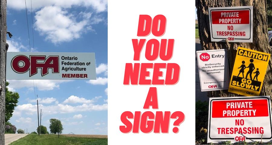 Request a sign