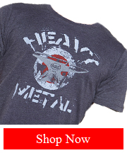 Tribut - Heavy Metal - gray tee