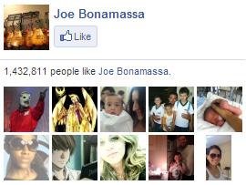 Joe Bonamassa on Facebook. 1,432,811 people like Joe Bonamassa. Yay!