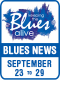 Keeping The Blues Alive brings you Blues News. Week of September 23rd to 29th.