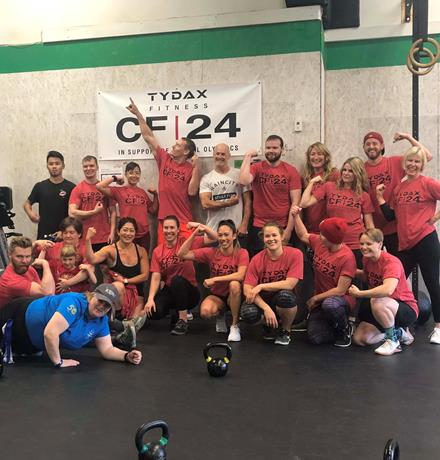 CF 24 presented by TYDAX Fitness