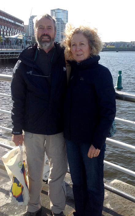 Wulf and Joan Gerhardt of SOBC - Kelowna