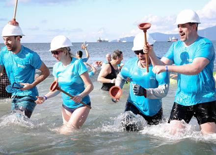 2017 Polar Plunge for SOBC presented by Westminster Savings