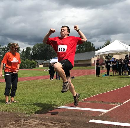 Special Olympics BC northern track meet 2019