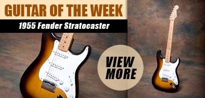 Joe Bonamassa Guitar of the Week. 1955 Fender Stratocaster. View more!
