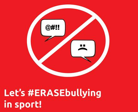 #ERASEbullying in sport
