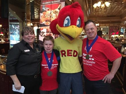 BC LETR Red Robin event in Abbotsford