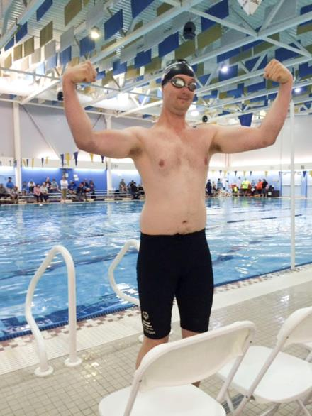 SOBC - Castlegar athlete Liam Donnelly is a dedicated swimmer who takes pride in his health.