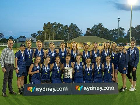 U15 Australian Championships - girls winners