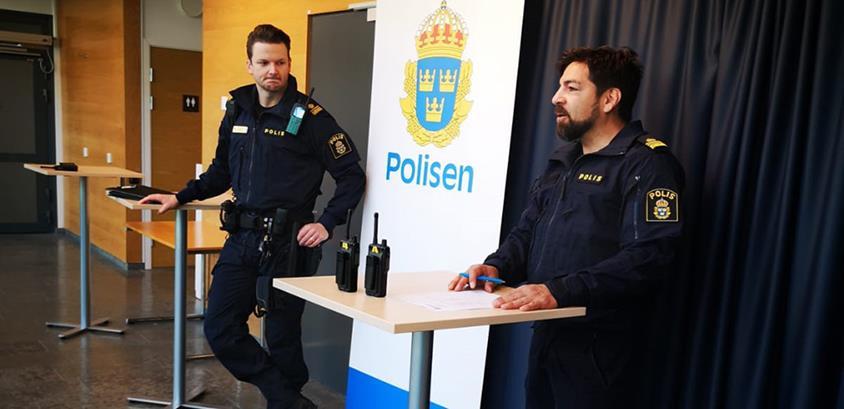 Polisvolontärer