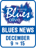 Keeping The Blues Alive brings you Blues News. Week of December 9th to 15th.