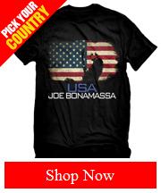 Joe Bonamassa World Shirt Collection: Pick Your Country