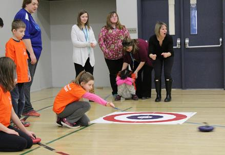 Quesnel try-it day curling