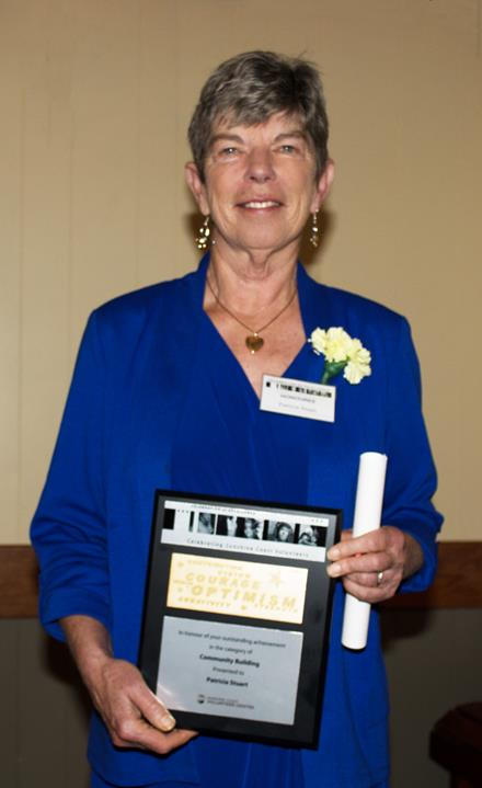 SOBC - Sunshine Coast volunteer Pat Stuart was honoured at the Celebration of Excellence Gala