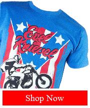 Tribut - Evel Knievel - Spangled tee