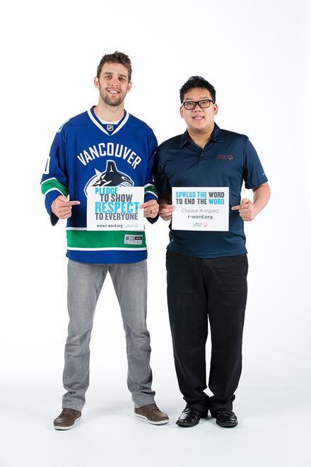 Vancouver Canucks Brendan Sutter
