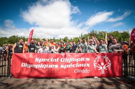 Special Olympics Mud Hero