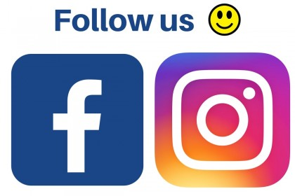 Facebook and instagram logo