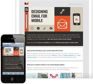 Tus campañas se adaptarán a todos los sistemas de correo... incluidos los smartphone y tablets!