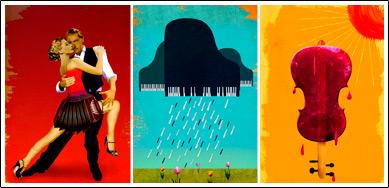 Illustration portfolio of Ellen Weinstein