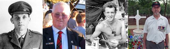 Long Tan veterans on New Zealand's  Vietnam War nominal roll